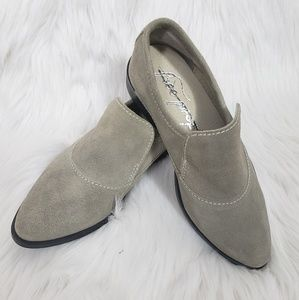 Free People NEW Brady Suede Slip-On Loafer